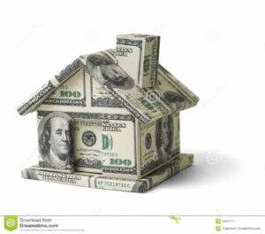 real-estate-money-house-made-cash-isolated-white-background-34637717